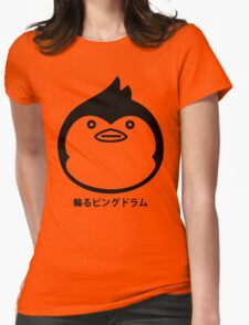 Mawaru Penguindrum Silhouette Womens Fitted T-Shirt