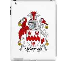 McCormack Coat of Arms / McCormack Family Crest iPad Case/Skin