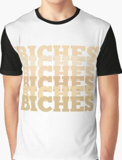BICHES Forehead Color Edition Graphic T-Shirt