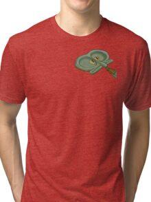 Spongebob squidward buttface  Tri-blend T-Shirt