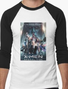 x men apocalypse movie Men's Baseball ¾ T-Shirt
