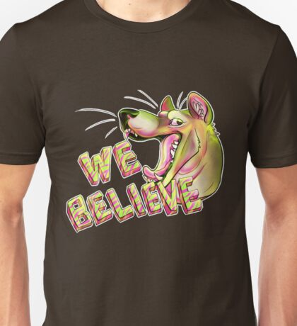 We Believe in Thylacine Unisex T-Shirt