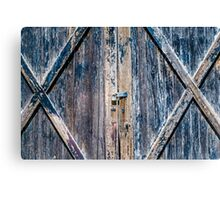 Locked in the Barn Canvas Print
