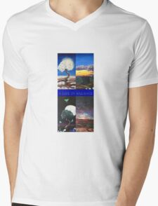 A lif in balance  Mens V-Neck T-Shirt