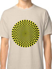 Op Art - Yellow and Black Classic T-Shirt