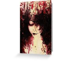 Wounds That Never Heal Greeting Card
