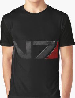 Mass Effect Commander Shepard Graphic T-Shirt
