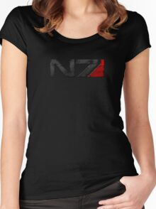 Mass Effect Commander Shepard Women's Fitted Scoop T-Shirt