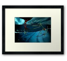 A Gloom of Duralumin Dragons Framed Print