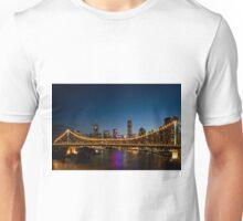 Brisbane Skyline at Dusk Unisex T-Shirt