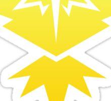 Pokemon Go Team Instinct Sticker