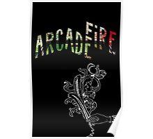 Arcade Fire Logos Poster