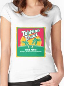 Fruit Punch Soda Women's Fitted Scoop T-Shirt