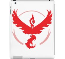 Pokemon Go! - Team Valor emblem iPad Case/Skin
