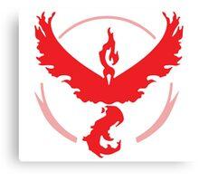 Pokemon Go! - Team Valor emblem Canvas Print