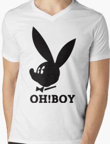 Oh!Boy Mens V-Neck T-Shirt