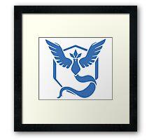 Pokemon Go! - Team Mystic emblem Framed Print