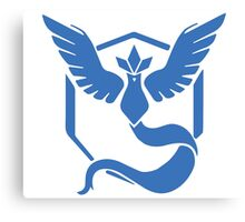 Pokemon Go! - Team Mystic emblem Canvas Print