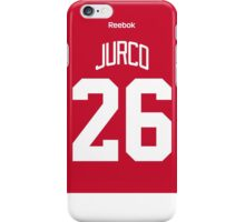 Detroit Red Wings Tomas Jurco Jersey Back Phone Case iPhone Case/Skin