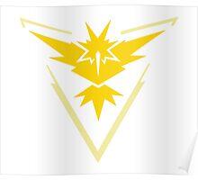 Pokemon Go - Team Instinct emblem Poster