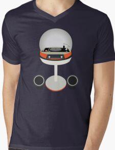 Funky Little Player Mens V-Neck T-Shirt