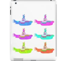 The Beatles' Yellow Submarine pop art theme iPad Case/Skin