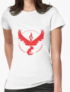 Pokemon Go! - Team Valor emblem Womens Fitted T-Shirt