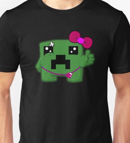 CREEPER Girls Minecraft Unisex T-Shirt