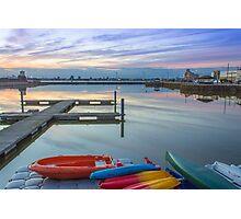 New Brighton Boating Lake Photographic Print