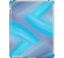 Blue cream iPad Case/Skin