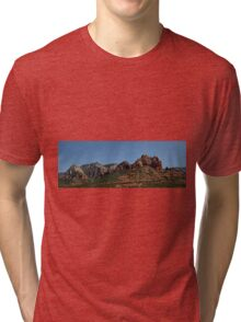 Sedona Arizona Panorama II Tri-blend T-Shirt
