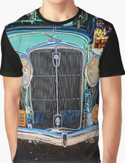 Blue Studebaker Graphic T-Shirt