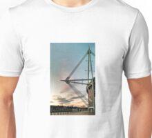 Cardiff's Principality Stadium at dusk Unisex T-Shirt