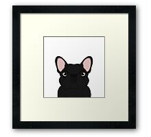 Frenchie - Black Brindle  Framed Print
