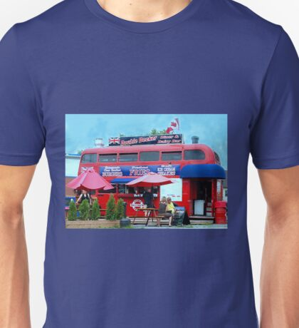 Different Double Decker Unisex T-Shirt