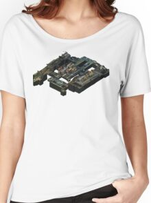 Isometric CSGO Train Poster Women's Relaxed Fit T-Shirt