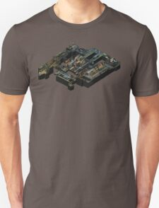 Isometric Train Map Unisex T-Shirt