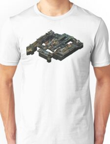 Isometric CS:GO Train Map Unisex T-Shirt