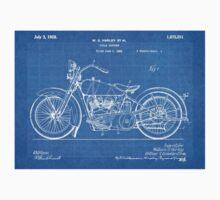 Harley-Davidson Motorcycle US Patent Art 1928 blueprint T-Shirt