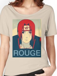 Itachi Rouge Women's Relaxed Fit T-Shirt