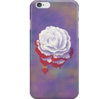 Painted Rose - Rectangular Image iPhone Case/Skin