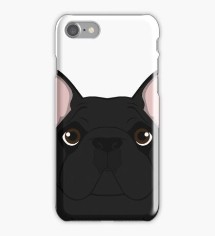 Frenchie - Black Brindle  iPhone Case/Skin