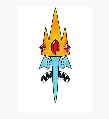 The Ice King Photographic Print