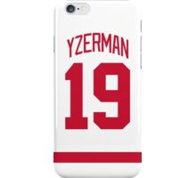 Detroit Red Wings Steve Yzerman Away Jersey Back Phone Case iPhone Case/Skin