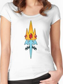 The Ice King Women's Fitted Scoop T-Shirt