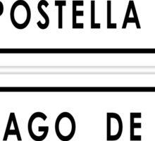 Santiago De Compostella 790 Sticker