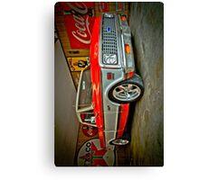1972 chevy cheyenne truck custom Canvas Print