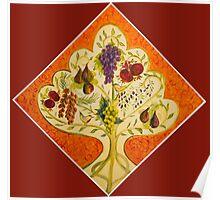 tree of life (orange) Poster