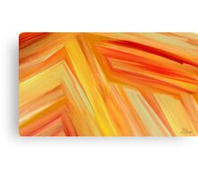 The beauty of a sunrise Canvas Print