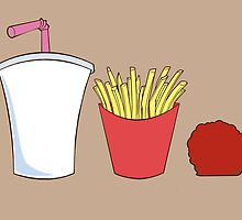 Aqua Teen Hunger Force Minimalist Poster by Hellmoo